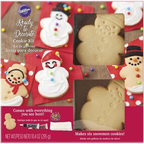 Ready-to-Decorate Snowman Cookie Kit