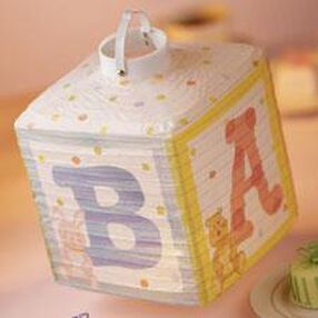 Baby ABC Blocks Lighted Lantern