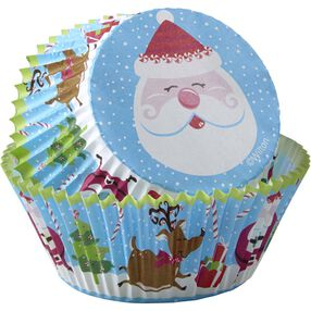Wilton Cheerful Santa Cupcake Liners