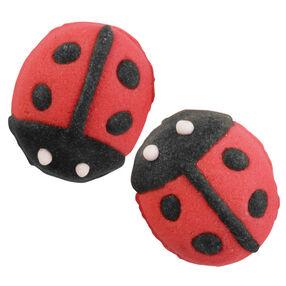 Ladybug Royal Icing Decoration