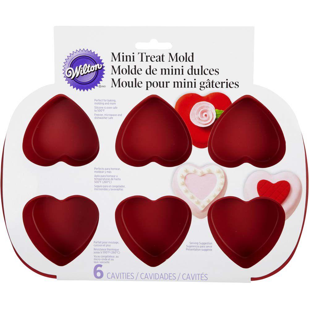 Wilton Mini Heart Cake Pan Instructions