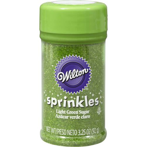 Wilton Light Green Colored Sugars