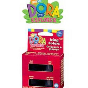 Dora the Explorer Icing Color Set