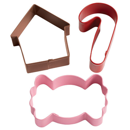 Gingerbread Cottage Holiday Cookie Cutter Set