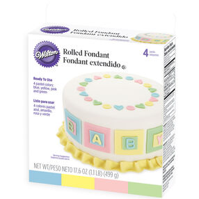 Rolled Fondant Pastel Colors Multi-Pack