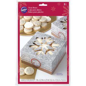 Snowflake Cookie Boxes