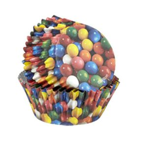 ColorCups Gumballs Cupcake Liners