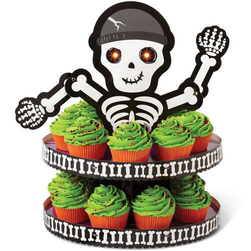 Spooky Pop Skeleton Treat Stand