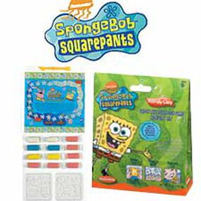 SpongeBob SquarePants Kandy Clay† Catch The Jellyfish Game Activity Kit