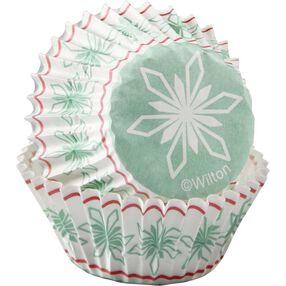Wilton Holiday Snowflake Mini Baking Cups