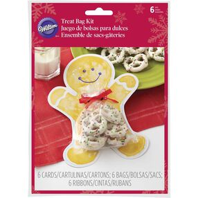 Gingerbread Boy Treat Gifting Kit