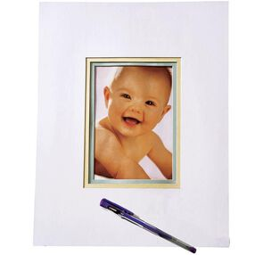 Decorate-A-Memory Autograph Mat Keepsake