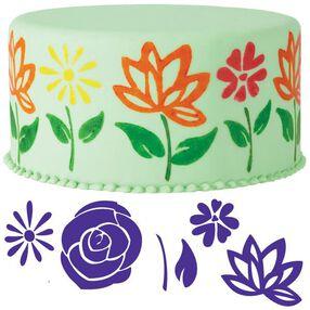 6-Pc. Flowers Cake Stamp Set