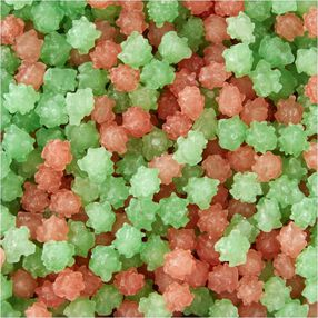 Wilton Green and Red Candy Sparkles