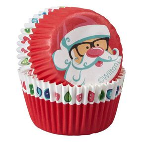 Wilton Christmas Sweet Holiday Sharing Mini Baking Cups, 100-Ct.