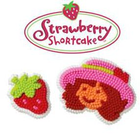 Strawberry Shortcake Icing Decorations