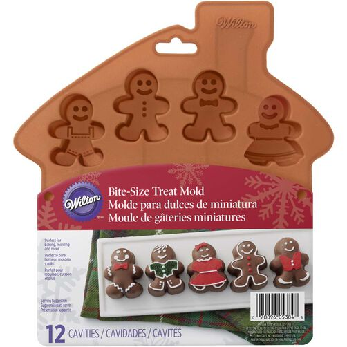 Wilton Gingerbread Boy Silicone Mold
