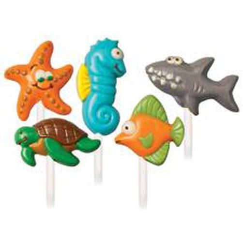 Sea Creatures Lollipop Mold