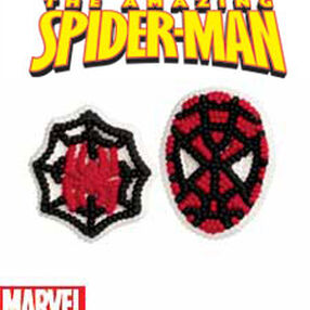 Spider-Man Icing Decorations