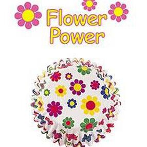 Flower Power Party Cups