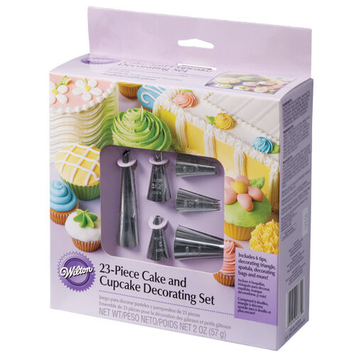 23 pc. Cake and Cupcake Decorating Set
