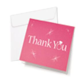 Wilton® All That Bling Thank You Cards, 12 Ct.