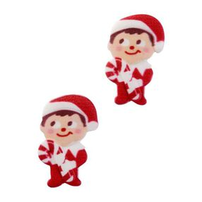The Elf on the Shelf Candy Cane Royal Icing Decorations