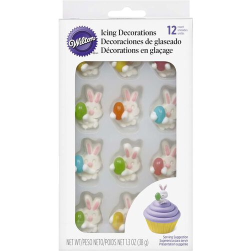 Wilton Bunny with Jelly Bean Candy Decorations
