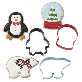 Wilton® 3-Pc. Christmas Polar Metal Cookie Cutter Set