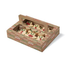 Wilton Christmas Holiday Sweet Swap Treat Boxes With Handles, 3-Ct.