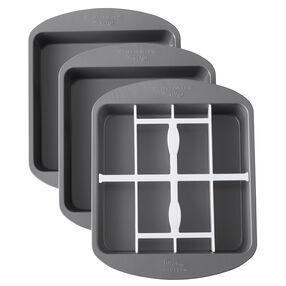 Square Checkerboard Cake Pan Set