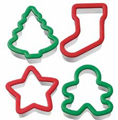 Comfort Grip Holiday Cookie Cutter Set