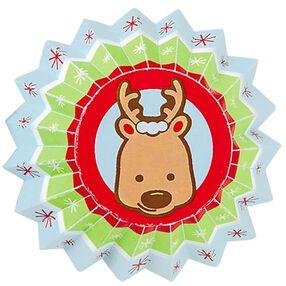 Snowflake Wishes Reindeer Mini Baking Cups