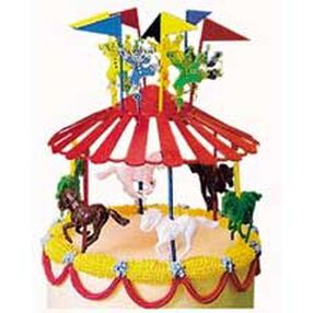 Carousel Cake Topper Set