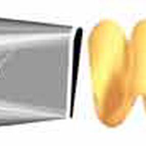No. 406 Ruffle Decorating Tip*
