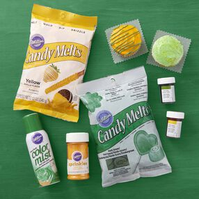 Wilton Green & Yellow Team Color Kit