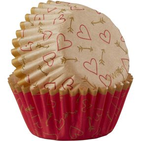Hearts & More Mini Baking Cups
