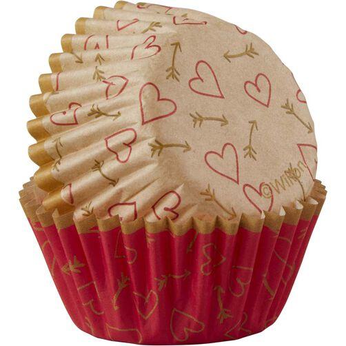 Hearts & More Mini Baking Cups