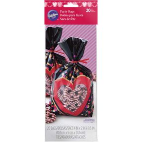Floating Hearts Treat Bags