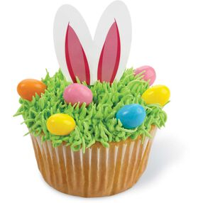 Easter Bunny Fun Pix Cupcake Toppers