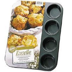 Excelle Premium Non-Stick 12 Cup Standard Muffin Pan