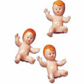 Newborn Baby Figurines Favor Accents
