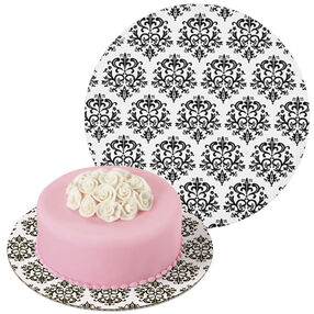 Damask Cake Board 2 (12 in.)