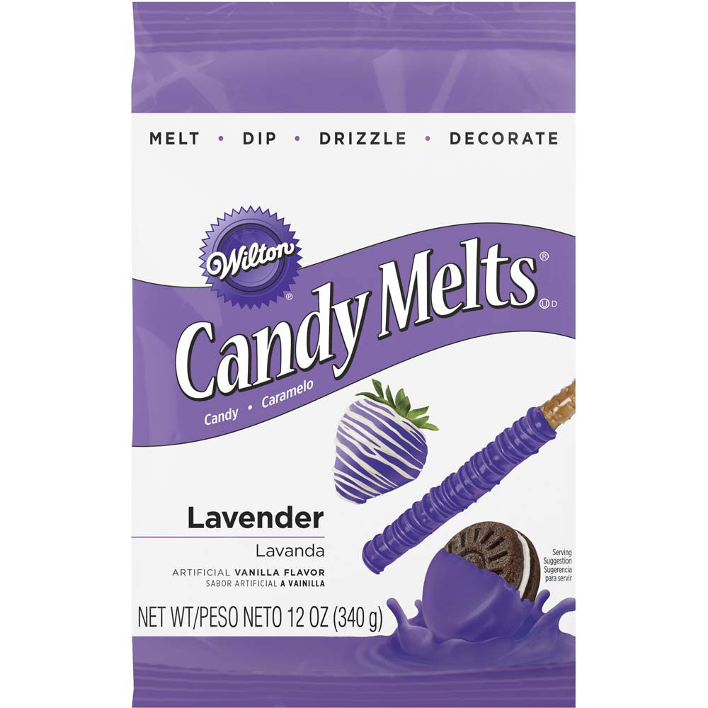 Purple Candy Melts Candy Wilton