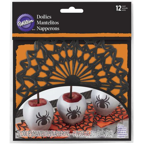 Wilton Spider Web Paper Doiles