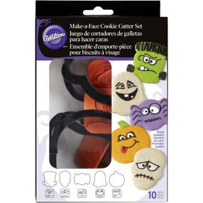 Make-a-Face Halloween Cookie Cutter Set
