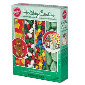Gingerbread House Holiday Candies Assortment