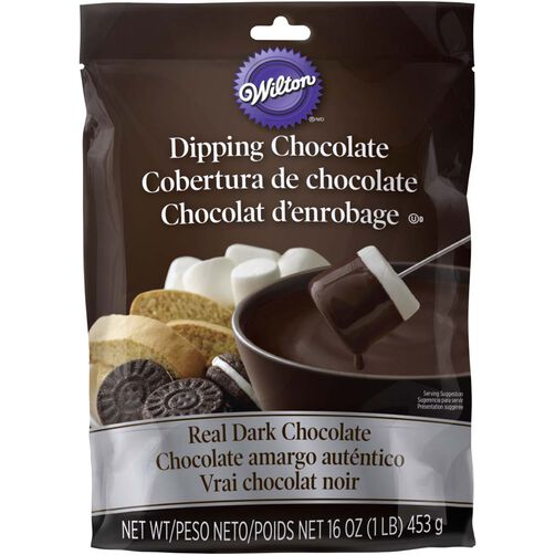 Microwaveable Real Dark Chocolate Melting Chocolate 1 lb.