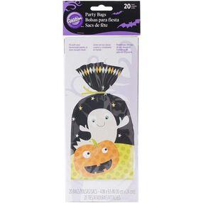 Halloween Ghost & Pumpkin Party Bags