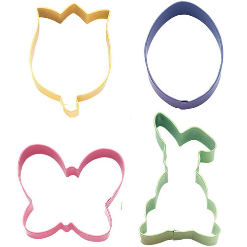 Hoppy Easter Colored Metal Cutter Set